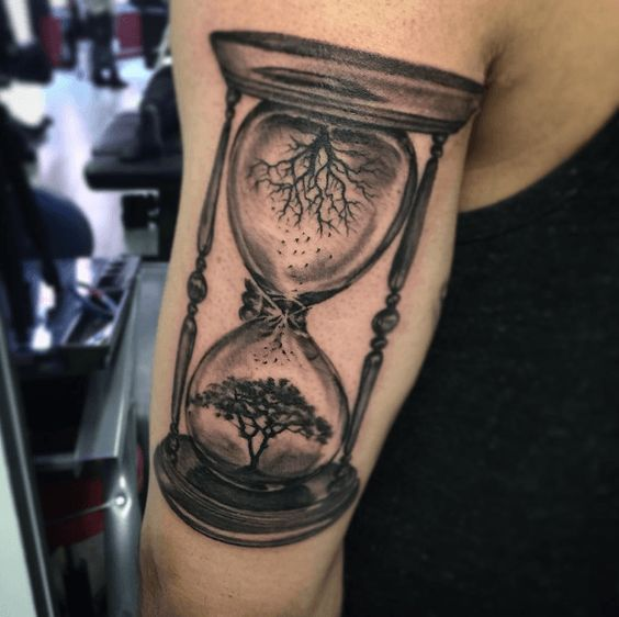 Tatuajes De Relojes De Arena (25)