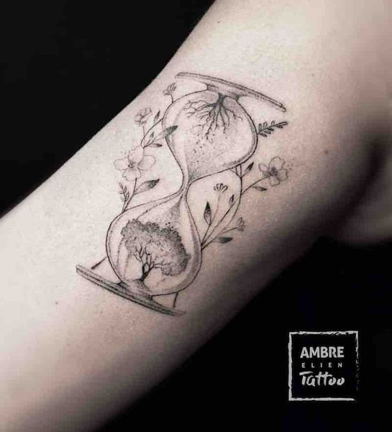 Tatuajes De Relojes De Arena (29)