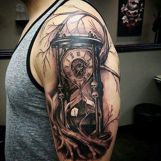 Tatuajes De Relojes De Arena (6)