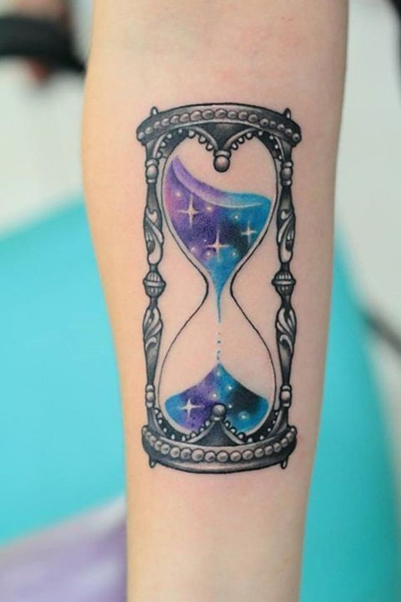 Tatuajes De Relojes De Arena (7)