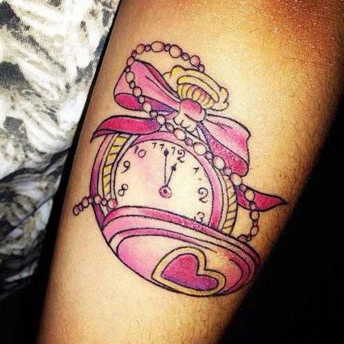 Tatuajes De Relojes De Bolsillo (14)