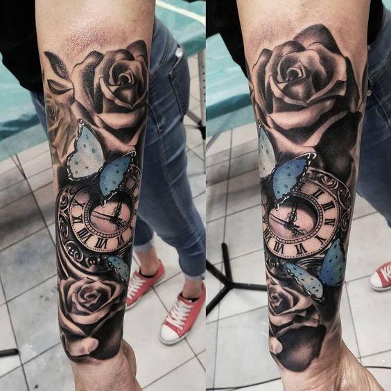 Tatuajes De Relojes De Bolsillo (15)