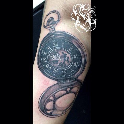 Tatuajes De Relojes De Bolsillo (16)