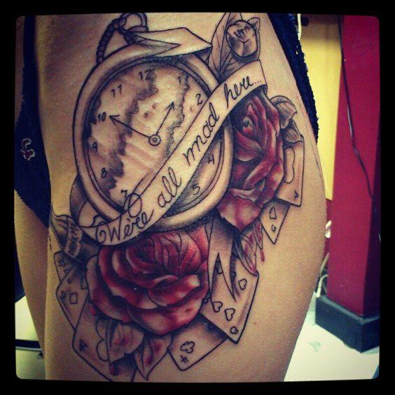 Tatuajes De Relojes De Bolsillo (21)