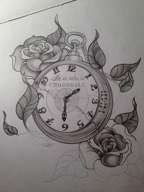 Tatuajes De Relojes De Bolsillo (22)