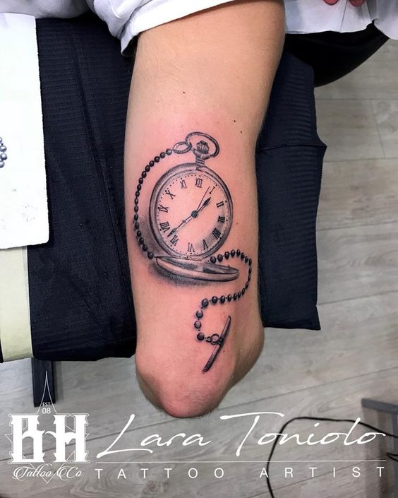 Tatuajes De Relojes De Bolsillo (3)