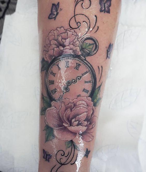 Tatuajes De Relojes De Bolsillo (8)