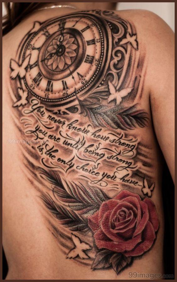 Tatuajes De Relojes Para Mujeres (2)