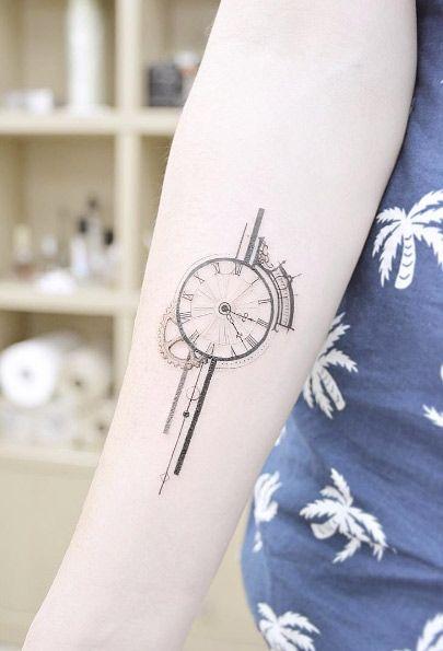 Tatuajes De Relojes Para Mujeres (3)