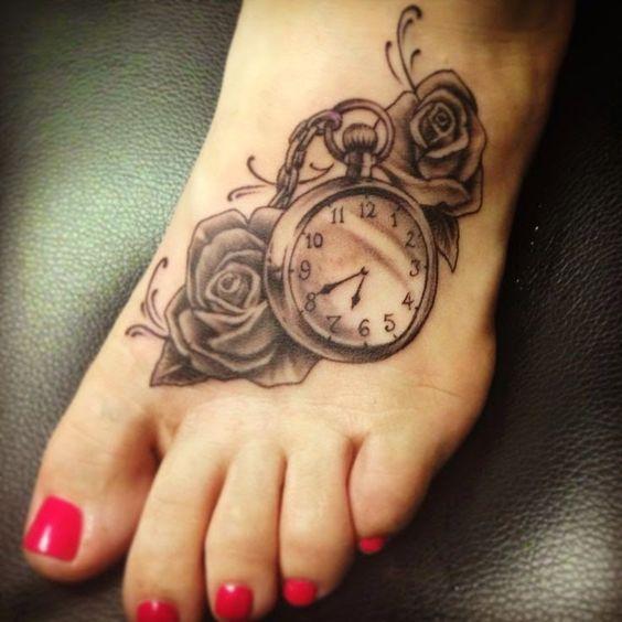 Tatuajes De Relojes Para Mujeres (4)