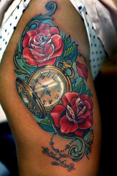Tatuajes De Relojes Para Mujeres (9)