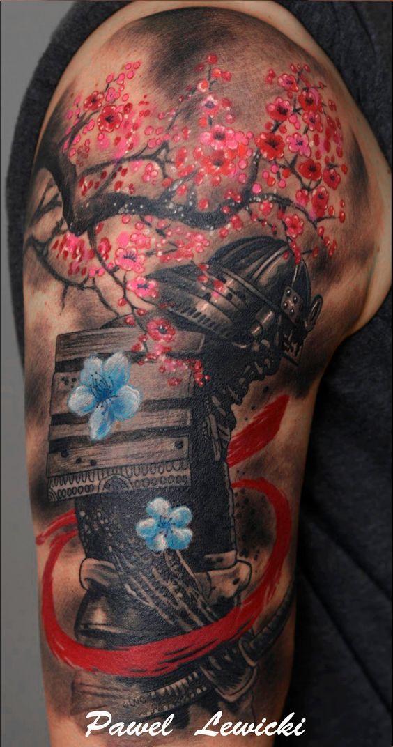 Tatuajes De Samurai En El Brazo (4)