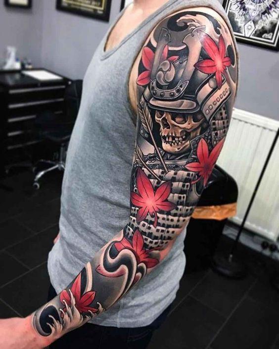 Tatuajes De Samurai En El Brazo (6)