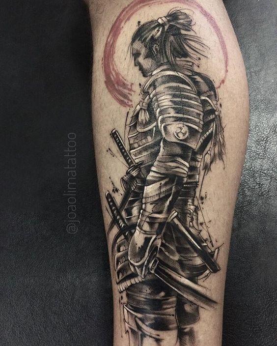 Tatuajes De Samurai En El Brazo (7)