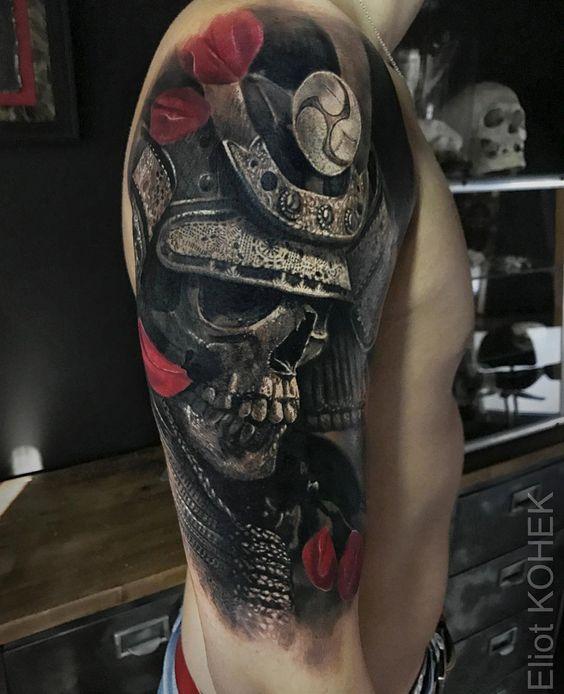 Tatuajes De Samurai En El Brazo (8)