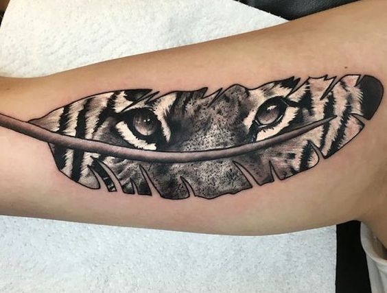 Tatuajes De Tigres En El Brazo (3)