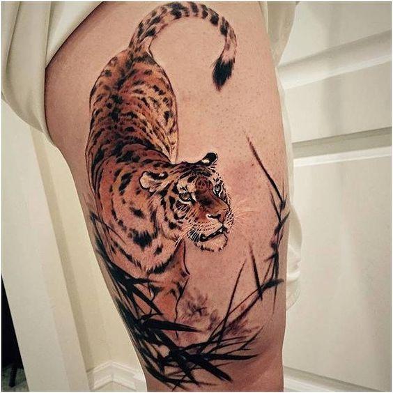Tatuajes De Tigres Diseños Y Significados De Este Fantástico