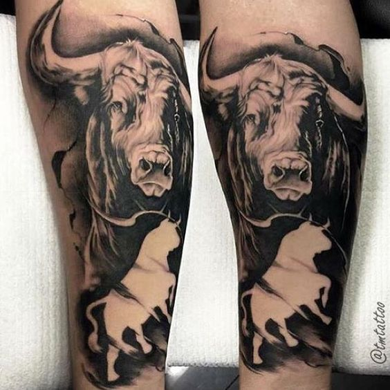 Tatuajes De Toros En El Brazo (7)
