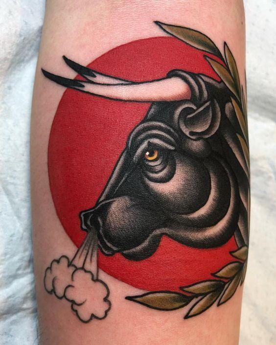 Tatuajes De Toros Para Hombres (6)