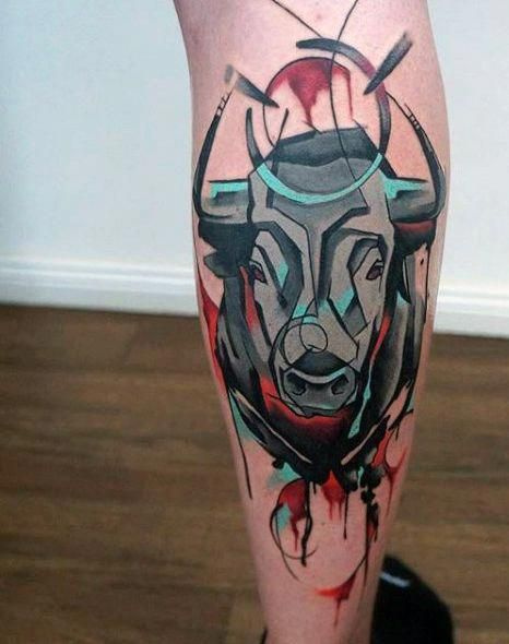 Tatuajes De Toros Para Hombres (7)