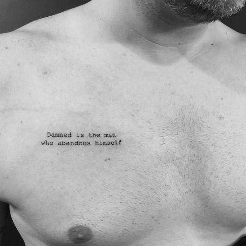 Tatuajes En El Pecho (4)