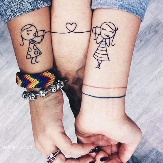 Tatuajes Para Amigas Diseños E Ideas Con Significados Profundos