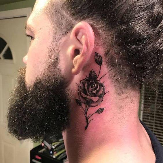 Tatuajes En El Cuello Para Hombres 2