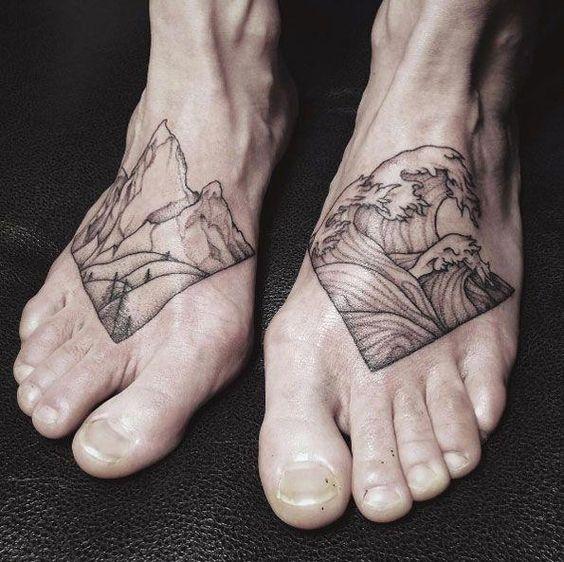 Tatuajes Para Hombres En El Pie 3 1