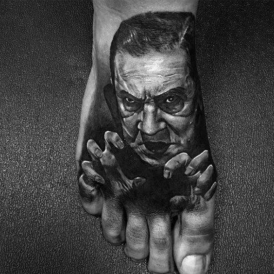 Tatuajes Para Hombres En El Pie 4 1