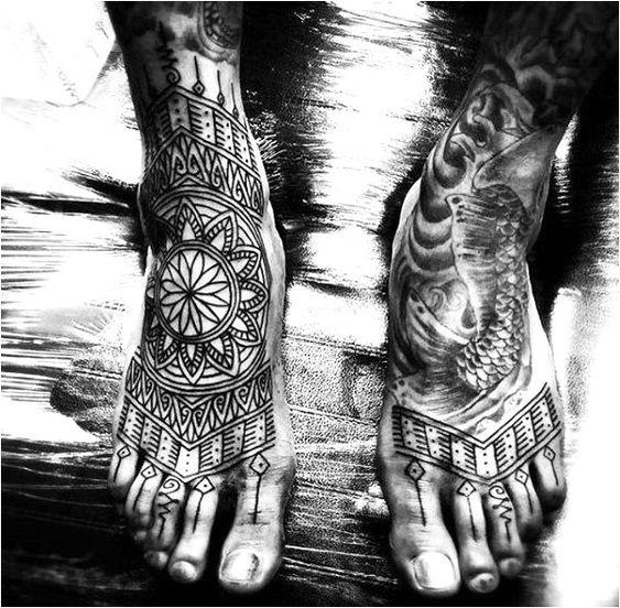 Tatuajes Para Hombres En El Pie 5 1