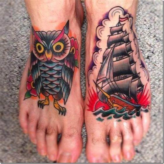 Tatuajes Para Hombres En El Pie 6 1