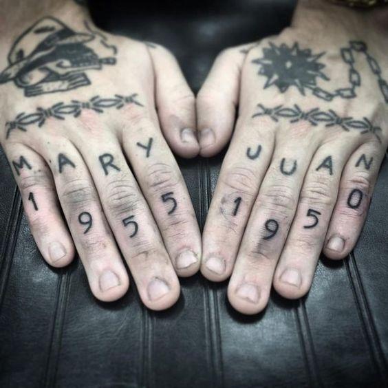 Tatuajes Para Hombres En Los Dedos 4 1
