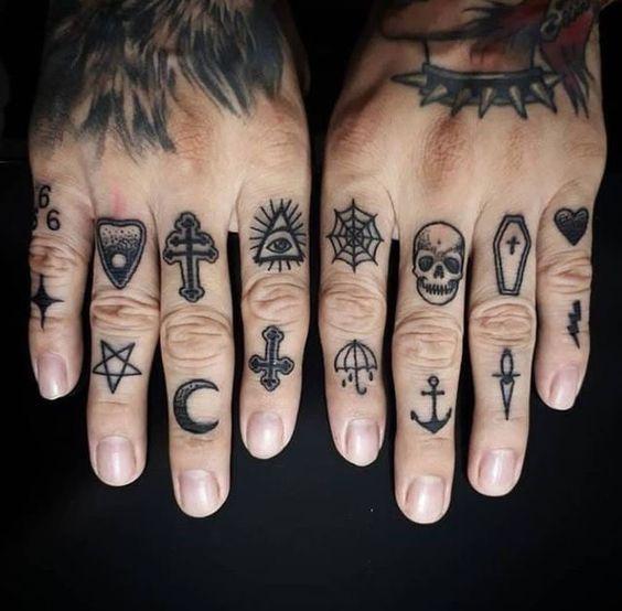 Tatuajes Para Hombres En Los Dedos 6 1
