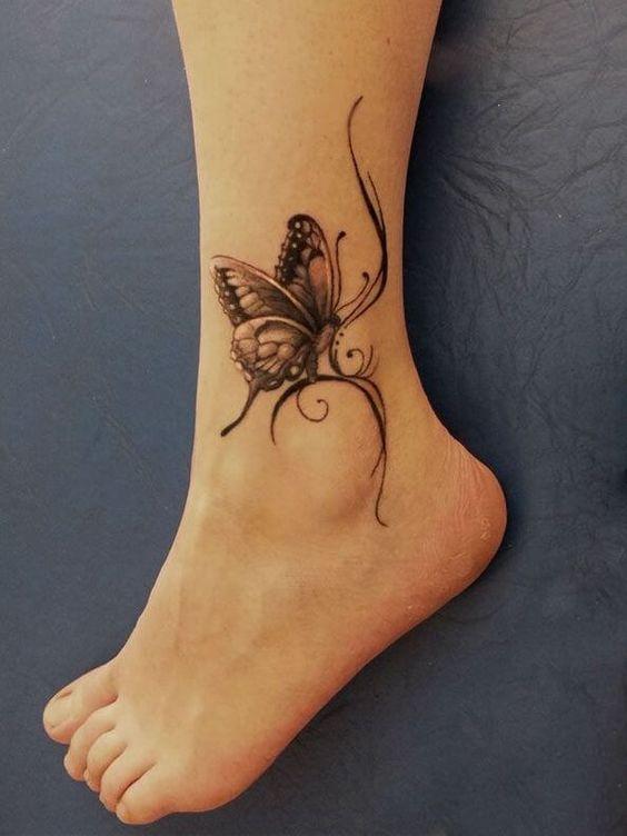 Tatuaje Mujeres Tobillo 6