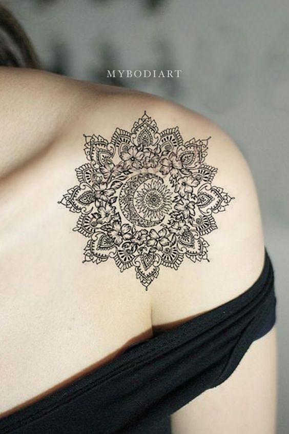 Tatuajes Mujeres Mandala 6
