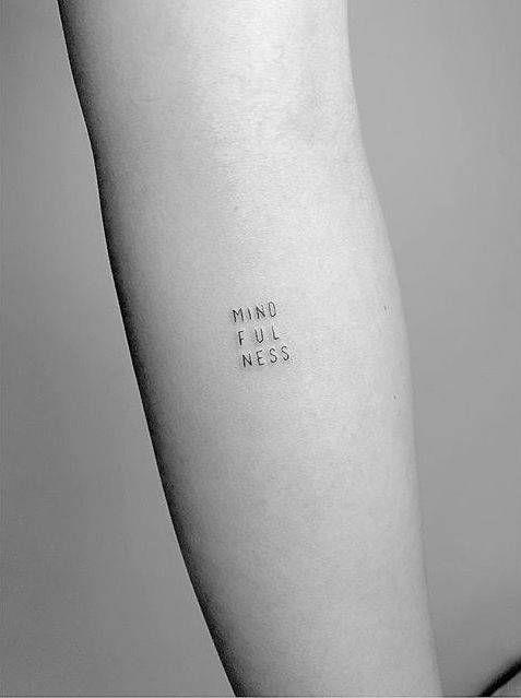 Tatuajes Pequeños Con Frases 5