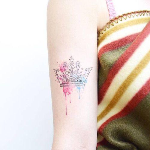Tatuajes Corona Queen 4