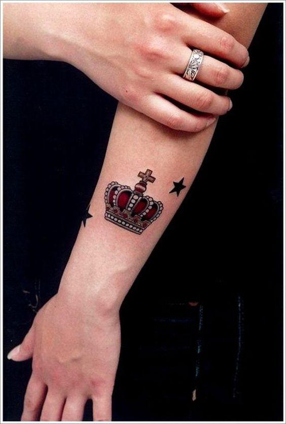 Tatuajes Corona Queen 6