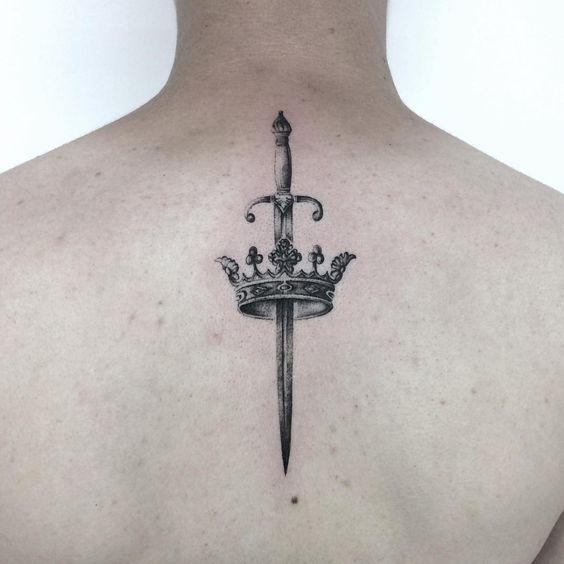 Tatuajes Corona Queen 7