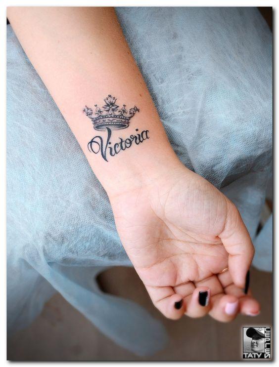Tatuajes De Coronas Con Nombres 1