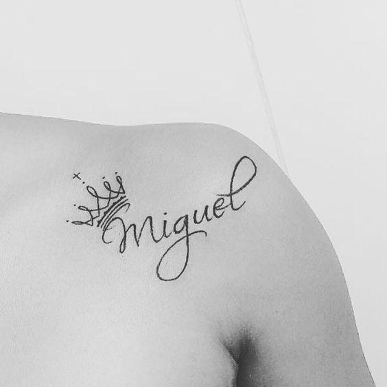 Tatuajes De Coronas Con Nombres 2