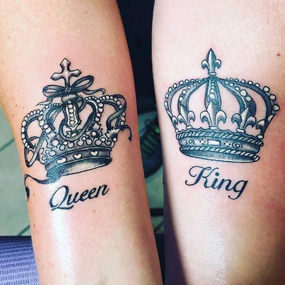 Tatuajes De Coronas Para Parejas 2