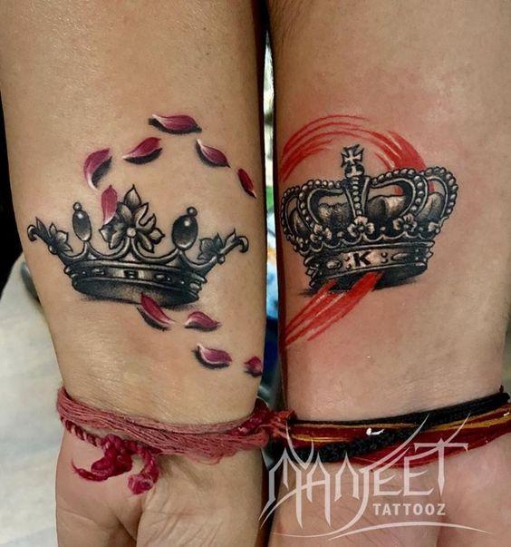 Tatuajes De Coronas Para Parejas 4