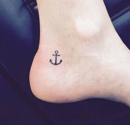 Tatuajes Pequeños De Anclas 1