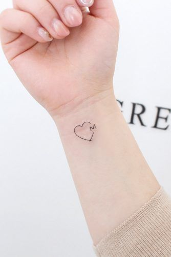 Tatuajes Pequeños De Corazones 4