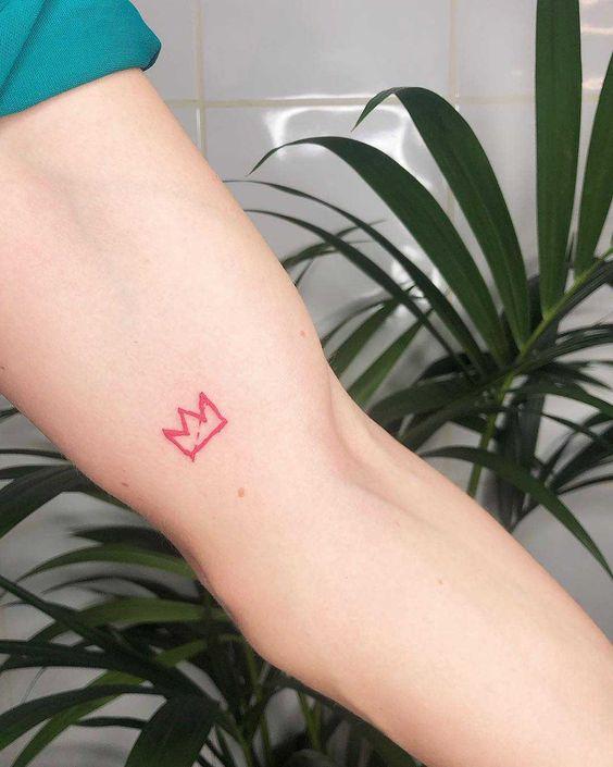 Tatuajes Pequeños De Coronas 3