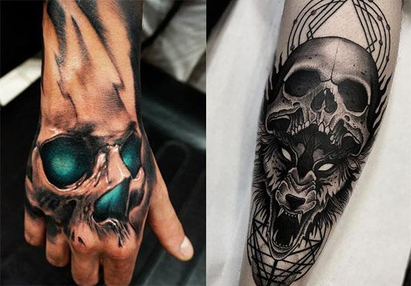 Tatouage Du Crâne Des Hommes (17)