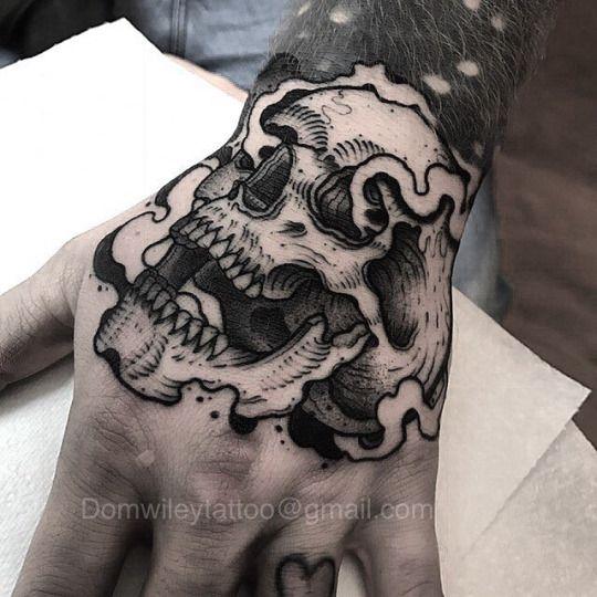 Tatouage Du Crâne Des Hommes (7)
