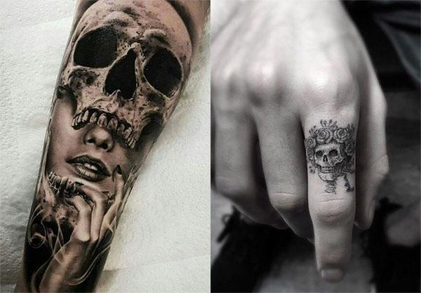Tatouage Du Crâne (7)