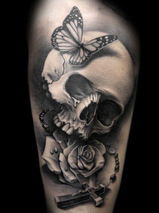 Tatouage Du Crâne Des Femmes (8)